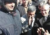 حضور محمود احمدی نژاد در راهپیمایی 22 بهمن تهران+عکس