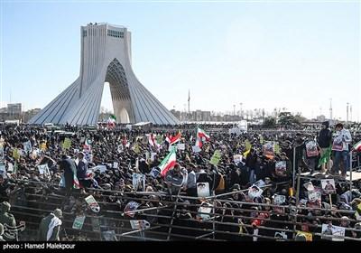مسیرات فی طهران بمناسبة الذکرى الـ41 لانتصار الثورة الإسلامیة