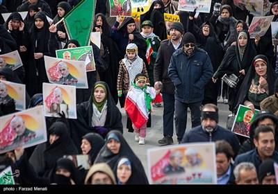 راهپیمایی 22 بهمن در کرمانشاه