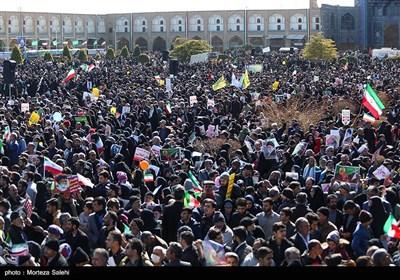 راهپیمایی 22 بهمن در اصفهان