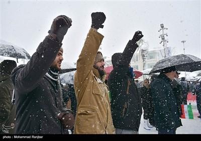 راهپیمایی ۲۲ بهمن در رشت