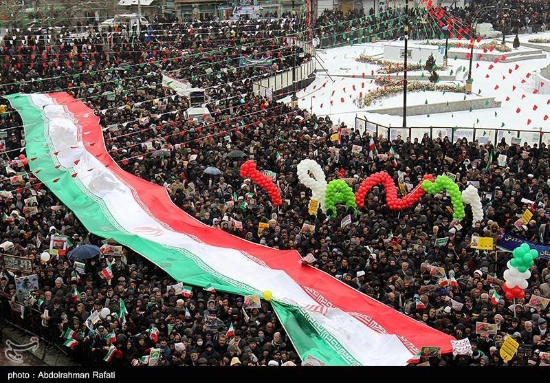Hamadan rallies