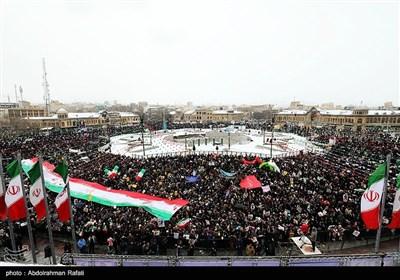راهپیمایی ۲۲ بهمن درهمدان