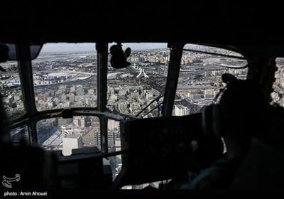 تصاویر هوایی ساعات اولیه راهپیمایی 22 بهمن در تهران
