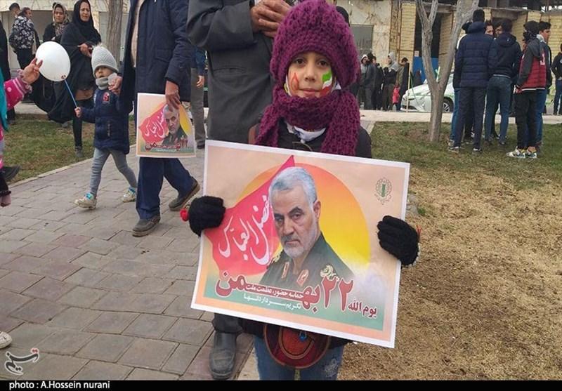 برپایی یومالله 22 بهمن در کاشان به روایت تصویر