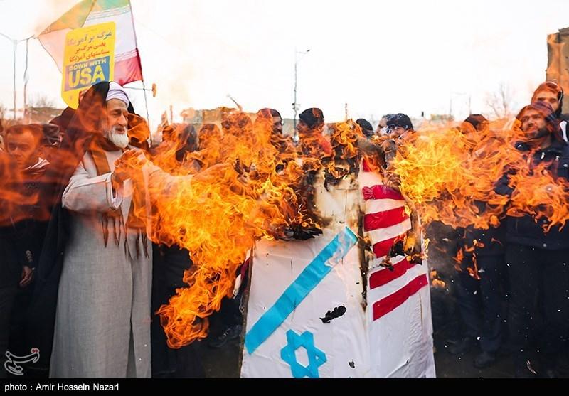 Qazvin rallies
