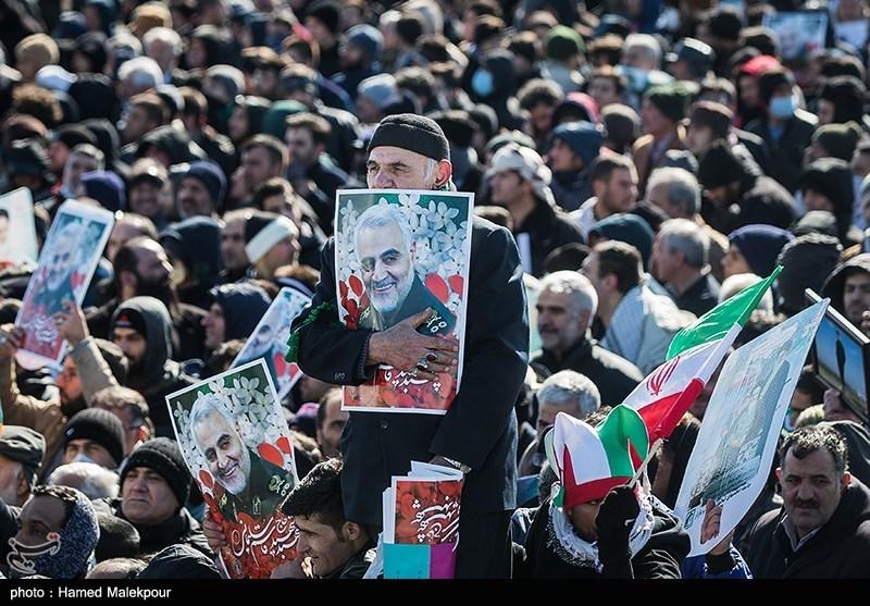 راهپیمایی یوم الله 22 بهمن در نطنز برپا شد