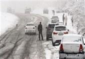 محورهای کوهستانی و ارتفاعات استان گیلان برای مسافرت مناسب نیست