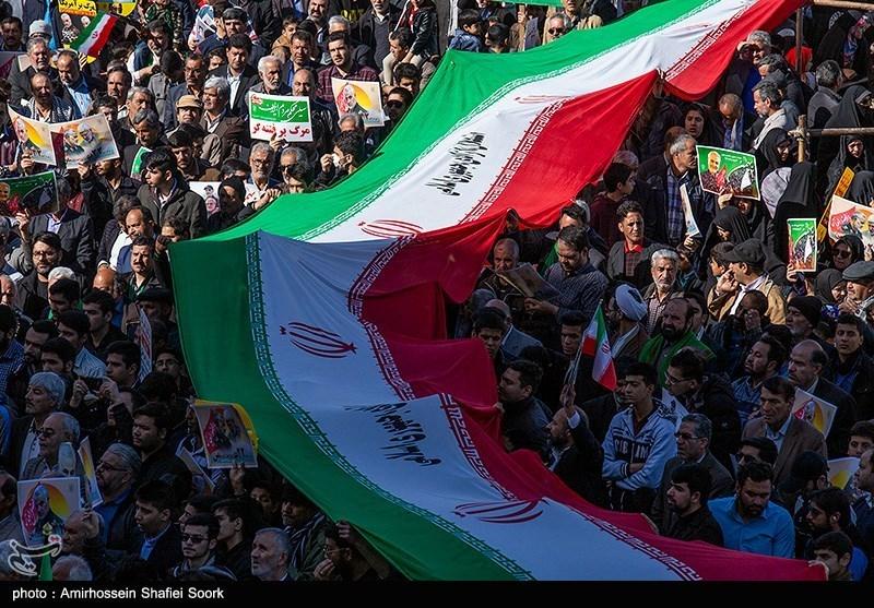 Iranian Demonstrators Pledge 'Harsh Revenge' against US
