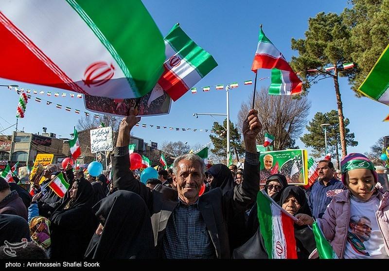 مسیرهای دوازدهگانه راهپیمایی یومالله بیست و دوم بهمن سال ۱۳۹۹