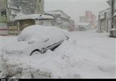 Avalanche, Heavy Snow in Northern Iran Kill 5, Injure 78