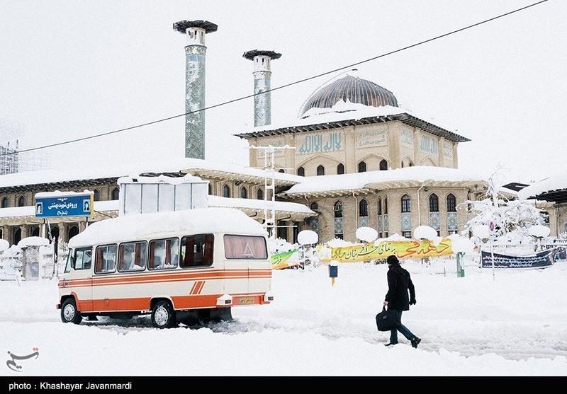 هواشناسی ایران 98/11/29|آغاز بارش شدید برف از فردا/ شنبه آینده سامانه بارشی جدید وارد کشور میشود