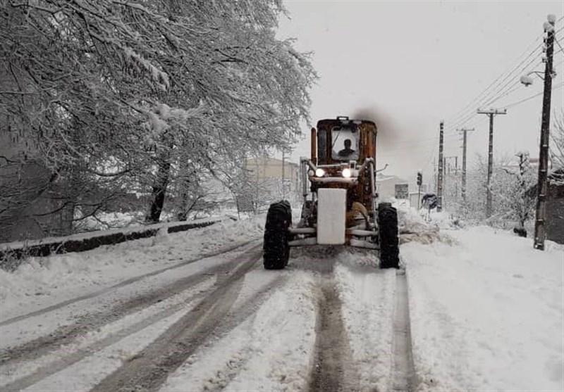 هواشناسی ایران 98/11/27|آغاز بارش برف در 19 استان/ اخطاریه برف 45 سانتیمتری در برخی استانها