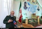 سخنرانی سردار محمدرضا فلاح زاده در مراسم گرامیداشت شهید مدافع حرم اصغر پاشاپور