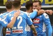جام حذفی ایتالیا| ناپولی با شکست اینتر در آستانه صعود به فینال قرار گرفت
