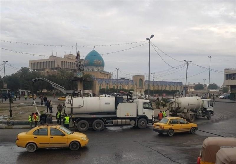 عراق|منابع امنیتی: اوضاع بغداد آرام است