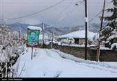 تداوم کولاک برف در آذربایجان شرقی/ راه 700 روستا دوباره مسدود شد