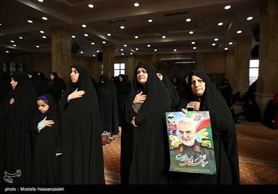 مراسم اربعین شهادت سپهبد قاسم سلیمانی وشهدای جبهه مقاومت