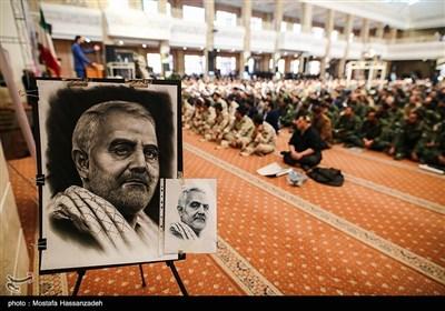 مراسم اربعین شهادت سپهبد قاسم سلیمانی و شهدای جبهه مقاومت