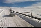 آخرین وضعیت راهها| برف نوروزی در جادههای 5 استان/ ترافیک نیمهسنگین در آزادراه کرج ـ قزوین