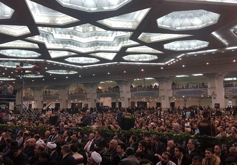 Iranians Convene to Mourn for Lt. Gen. Soleimani, Comrades