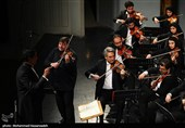 کنسرت ارکستر سمفونیک صدا و سیما و گراف موژار به روایت عکس