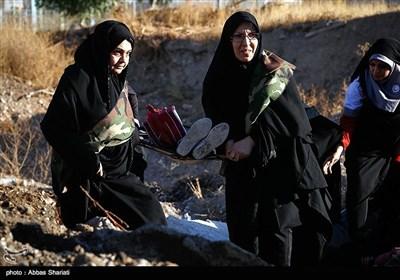 حضور زنان در فعالیتهای امدادی