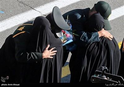 حضور مادران در کنار فارغ التحصیلان انتظامی