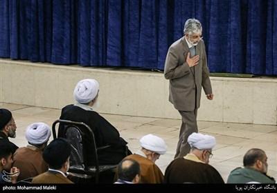 غلامعلی حداد عادل در نمازجمعه تهران