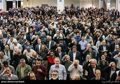 نمازگزاران جمعه تهران