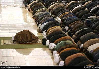 اقامه نماز جمعه تهران به امامت حجت الاسلام کاظم صدیقی در مصلی امام خمینی(ره)