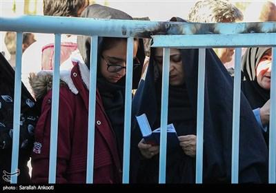 گلزار شهدای کرمان در آستانه برگزاری مراسم اربعین سپهبد شهید حاج قاسم سلیمانی