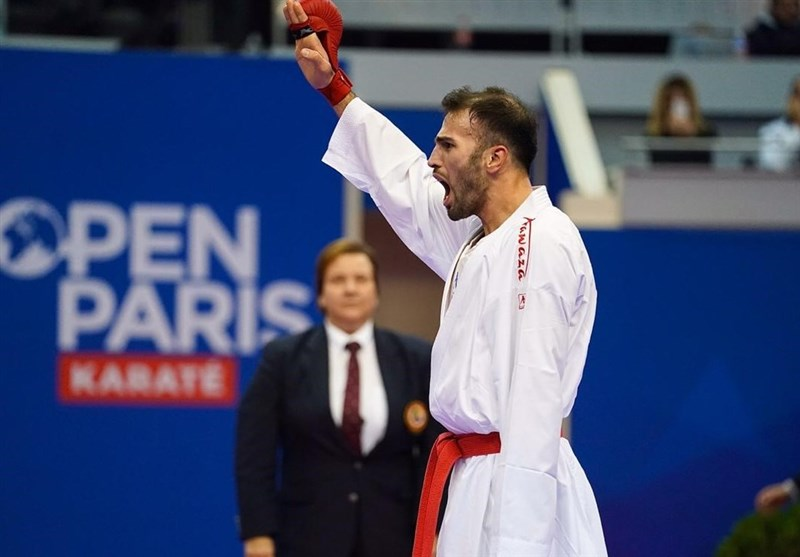 عسگری نخستین المپیکی کاراته ایران شد