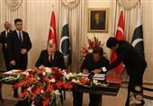 پاکستان و ترکیه 13 تفاهمنامه همکاری امضا کردند