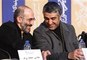 پژمان جمشیدی و هادی حجازیفر در قاب تلویزیون+فیلم