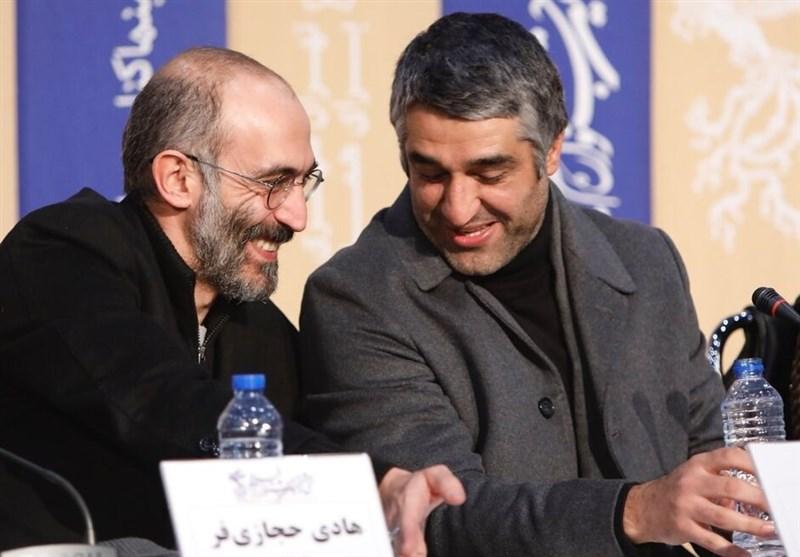 """پژمان جمشیدی و هادی حجازیفر در """"زیرخاکی"""" تلویزیون + عکس"""