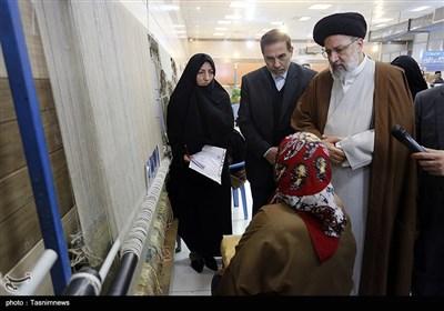 بازدید حجت الاسلام سید ابراهیم رئیسی رئیس قوه قضائیه از ندامتگاه زنان در شهرری