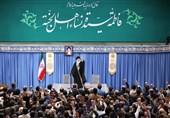 مداحان و ذاکران اهلبیت(ع) با امام خامنهای دیدار کردند