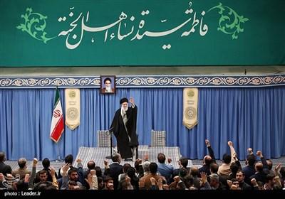 دیدار ذاکران اهلبیت علیهمالسلام با رهبر معظم انقلاب