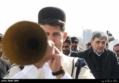 پیروز حناچی شهردار تهران در آیین بهره برداری از 55 پروژه مدیریت شهری در منطقه 22 تهران