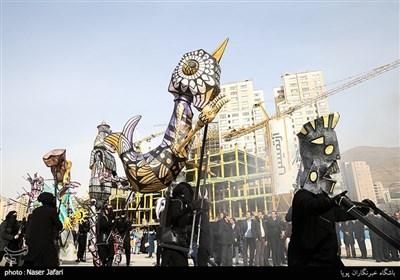آیین بهره برداری از 55 پروژه مدیریت شهری در منطقه 22 تهران