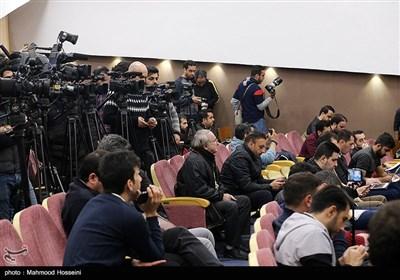 خبرنگاران حاضر در اولین نشست خبری دراگان اسکوچیچ سرمربی جدید تیم ملی فوتبال