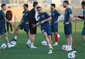 برگزاری تمرین پرسپولیسیها در هوای آفتابی دبی
