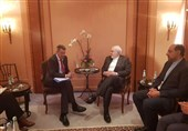دیدار ظریف و رئیس کمیته بینالمللی صلیب سرخ جهانی