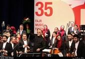 گزارش ویدیویی از اجرای ارکستر سمفونیک تهران|نصیر حیدریان: نوازندگان ارکستر میتوانند سختترین قطعهها را بنوازند