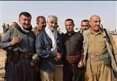 """اللواء بختیار لـ""""تسنیم"""": أینما کنا نطلب المساعدة کان سلیمانی یأتی لمؤازرتنا"""