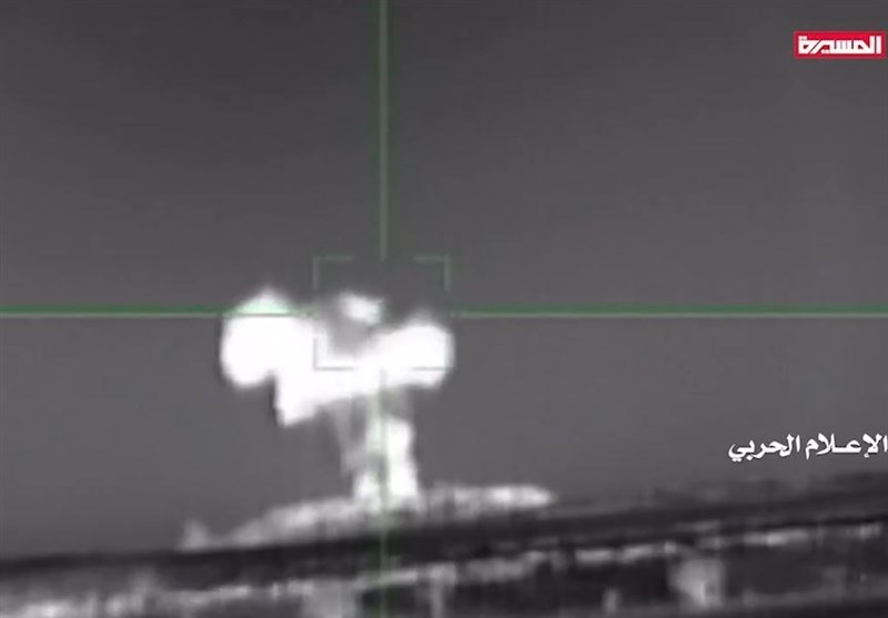 Video Shows Ansarallah Forces Shooting Down Saudi Fighter Jet in Northern Yemen