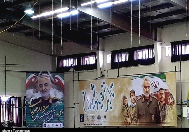 مراسم چهلم حاج قاسم و شهدای مقاومت در سنندج برگزار شد + تصاویر