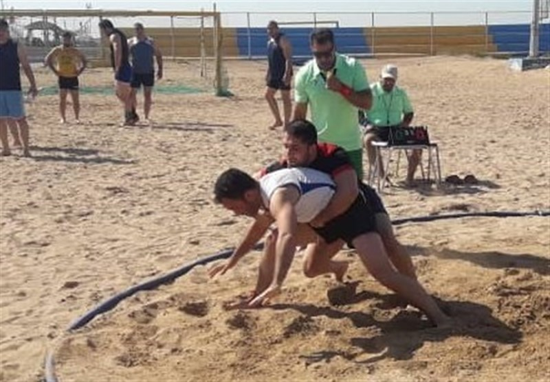 بوشهر|تیم ملی کشتی ساحلی کارگران در مسابقات جهانی اسپانیا به مقام قهرمانی رسید
