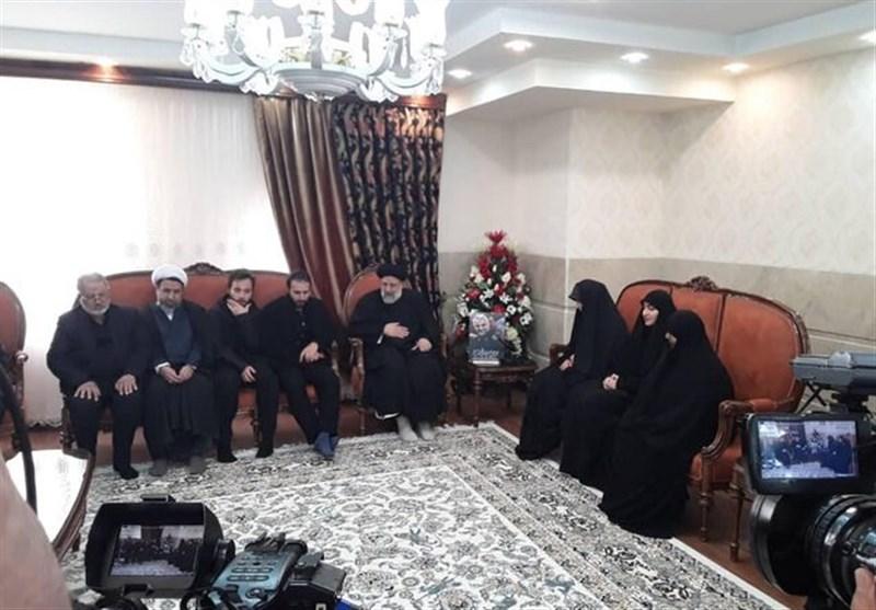 رئیس قوه قضائیه با خانواده سردار شهید حاج قاسم سلیمانی دیدار و گفتوگو کرد